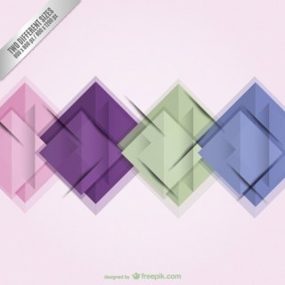 Abstract Wallpaper with Squares Free Vector