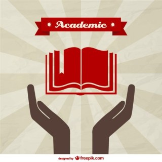 Academic Background Template Free Vector