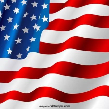 American Flag Free Free Vector