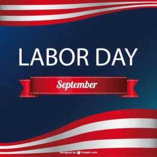 American Labor's Day Free Vector