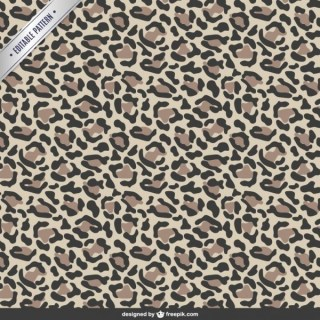 Animal Print Pattern Free Vector