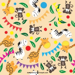 Animals Seamless Background Free Vector