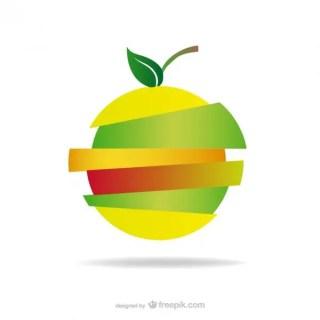 Apple Logo Sliced Design Free Download Free Vector