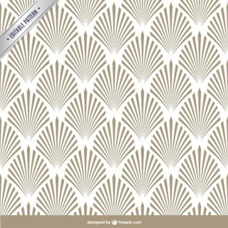 Arabesque Editable Pattern Free Vector