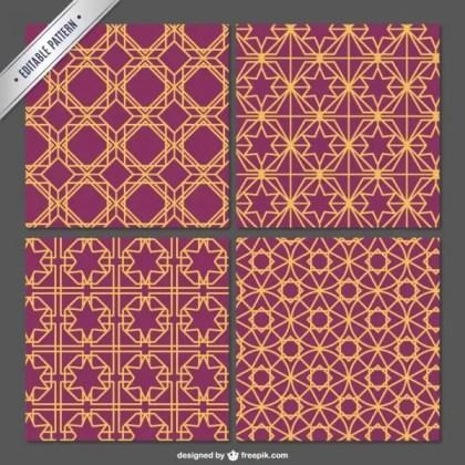 Arabian Editable Pattern Free Vector