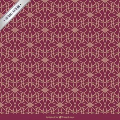 Arabic Style Pattern Free Vector