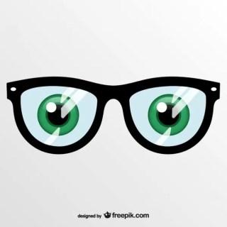 Art Eye Glasses Free Vector