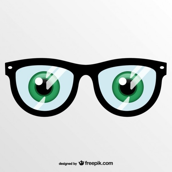 Art Eye Glasses Free Vector