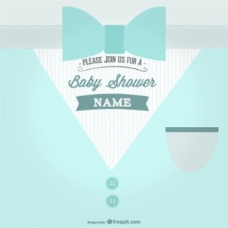 Baby Shower Party Theme Free Vector