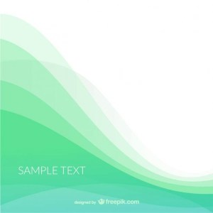 Background Template with Waves Free Vector