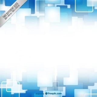 Background with Blue and White Squares Free Vector
