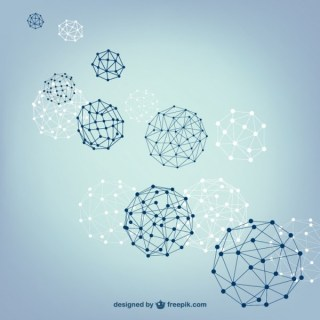 Ball Spheres Structure Free Vector