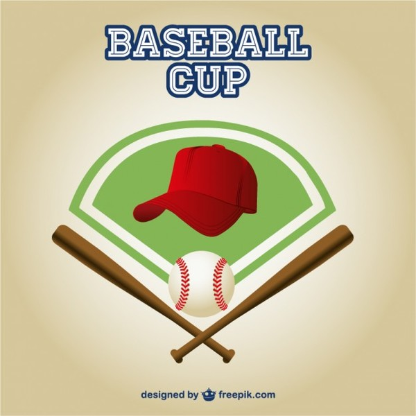 Baseball Cup Free Free Vector