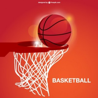 Basketball Basket Free Vector