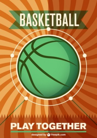 Basketball Green Ball Free Free Vector