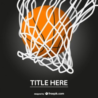 Basketball Hoop Free Template Free Vector
