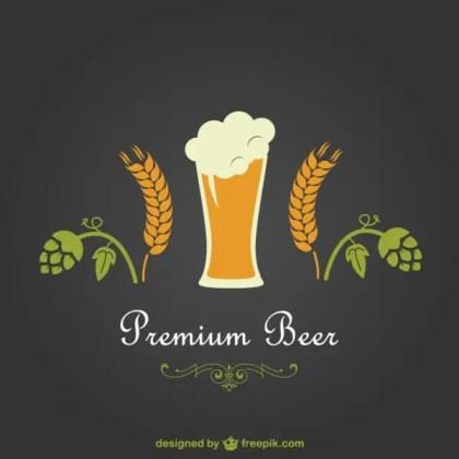 Beer Premium Design Free Vector