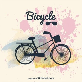 Bicycle Design Image Free Vector