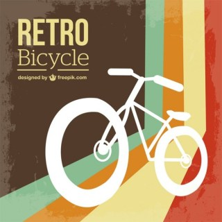 Bicycle Retro Free Free Vector