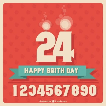 Birthday Design Free Download Free Vector