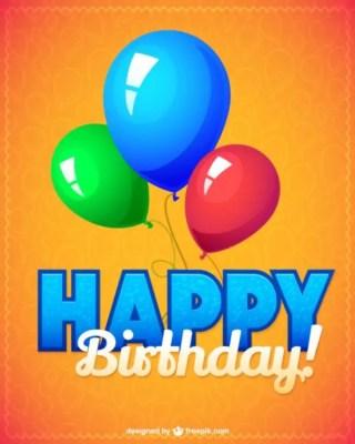 Birthday Party Illustration Free Vector