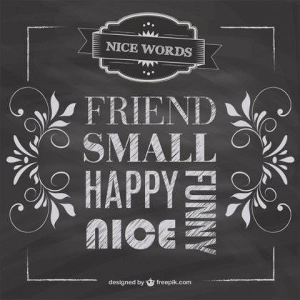 Blackboard Friendship Free Free Vector