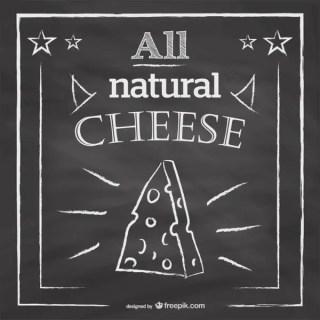 Blackboard Restaurant Menu Cheese Design Free Vector