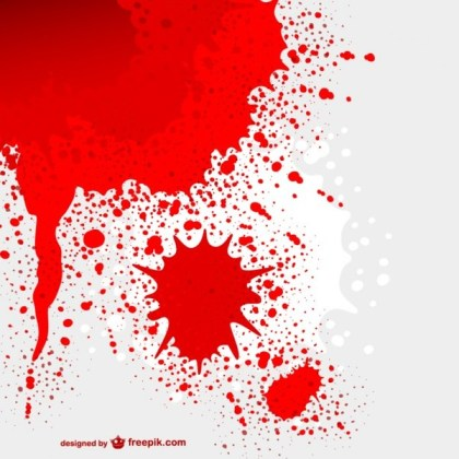 Blood Stained Background Free Vector