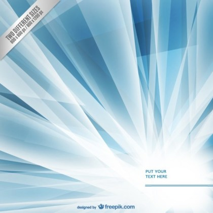 Blue and White Background Template Free Vector