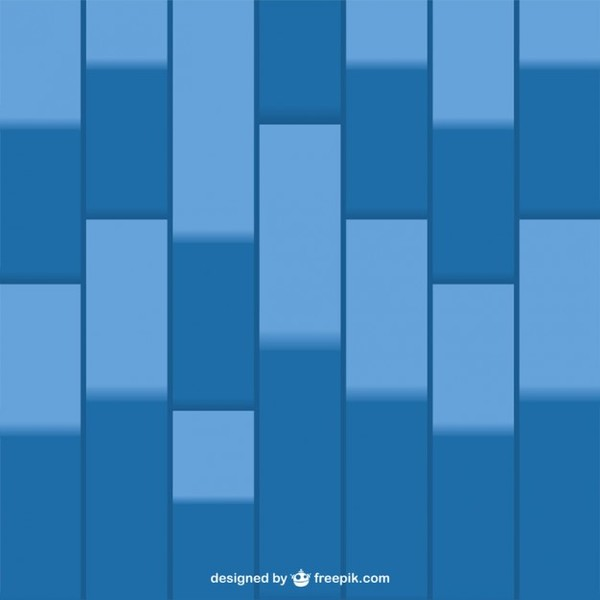 Blue Geometric Presentation Background Free Vector