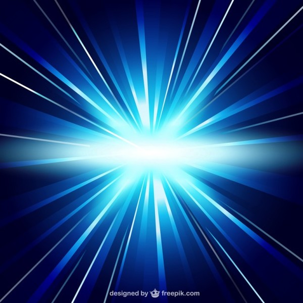 Blue Light Background Free Vector