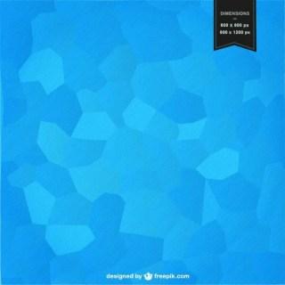 Blue Mosaic Background Design Free Vector