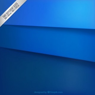Blue Paper Layers Background Free Vector