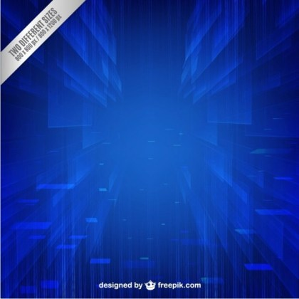 Blue Technology Background Free Free Vector