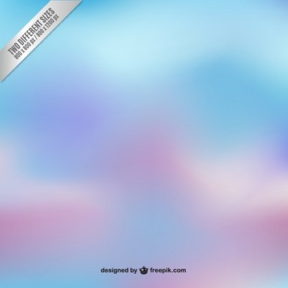 Blurred Background in Blue and Purple Tones Free Vector