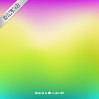 Blurred Background in Fluorescent Colors Free Vector