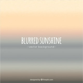 Blurred Sunshine Background Free Vector