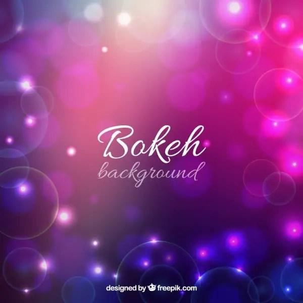 Bokeh Background Free Vector