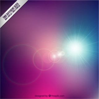 Bright Star in Abstract Style Free Vector