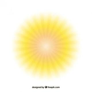 Bright Sun Free Vector