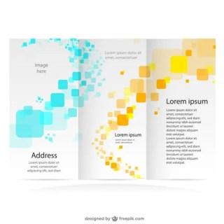 Brochure Free Mock-Up Branding Graphics Free Vector