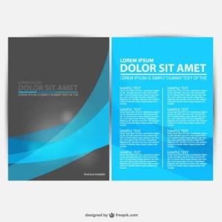Brochure Graphics Free Download Free Vector