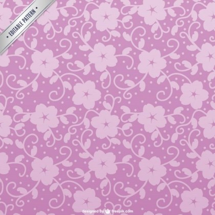 Cherry Blossom Pattern Free Vector