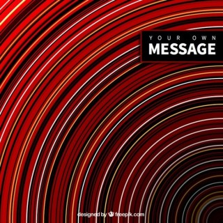 Circles Background in Abstract Style Free Vector