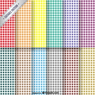 Colorful Patterns Collection Free Vector