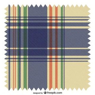Colorful Scotish Tartan Seamless Pattern Free Vector