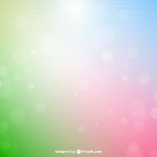 Colorful Sun Reflections Free Vector