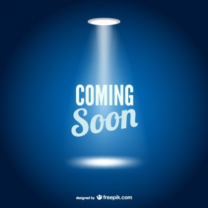 Coming Soon Web Page Template Free Vector