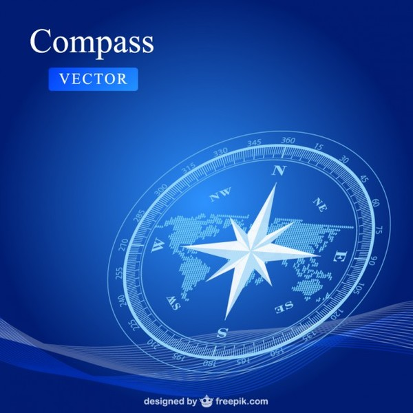 Compass Free Free Vector