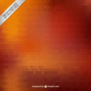 Copper Mosaic Background Free Vector